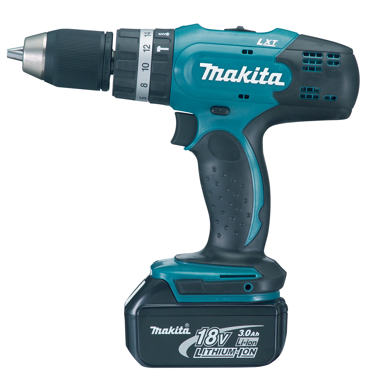 makita power tools south africa 18v cordless impact driver drill b dhp453rhex. Black Bedroom Furniture Sets. Home Design Ideas