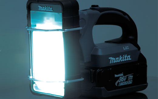 1 2 Cordless Impact >> Makita Power Tools South Africa - 36V Rechargeable Fluorescent Light BML360