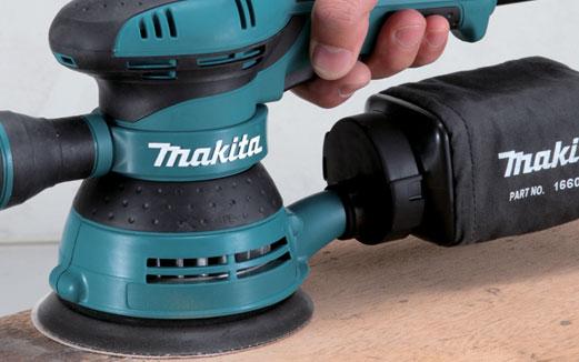 Die Electric Sander ~ Makita power tools south africa orbital sander bo