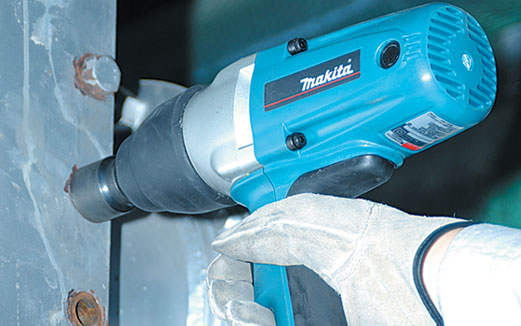 """MAKITA TW0200 Heavy Duty 1/2"""" 13mm 12.7MM Electric SQUARE DRIVE Impact"""